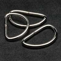 Metal D-Rings 1 inch - 10 pack