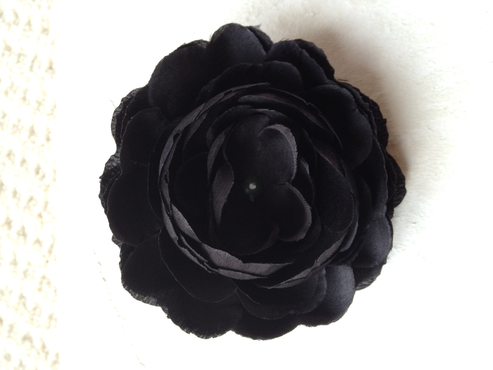 "4"" Ranunculus Flower - Black Midnight - CLEARANCE"
