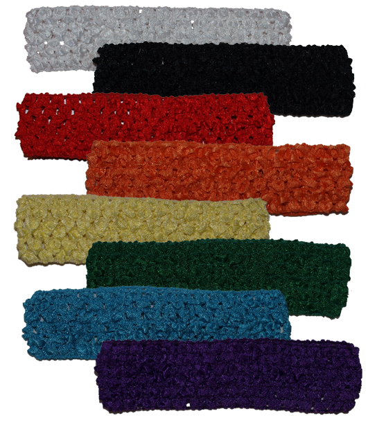 Crochet Headbands - 1.5 inch