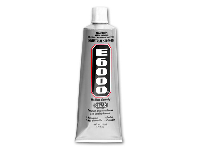 All purpose Glue E6000 (110 ml - 3.7 fl.oz) x1 tube